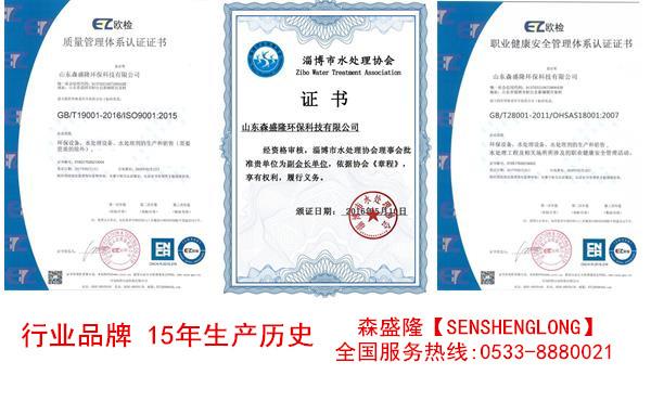 电厂无磷缓蚀阻垢剂SH710环保高效